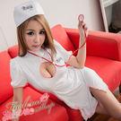 角色扮演短袖洋裝白色護士服 性感日系護士...