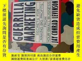 二手書博民逛書店Guerrilla罕見Marketing 遊擊營銷活動 架2Y1