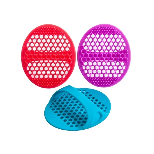 mocodo 專利矽膠起泡洗顏刷/洗臉刷(1入) 【小三美日】不挑色