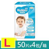 【金好奇】 pH5.5 護膚乾爽紙尿褲L (50片x4包/箱)-箱購