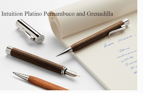 Graf von Faber-Castell Intuition Platino Wood 繪寶頂級直覺系列鋼珠筆*147111