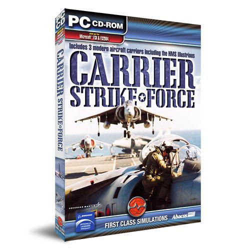 【軟體採Go網】PCGAME-模擬飛行X / 模擬飛行2004-航母打擊部隊 Carrier Strike Force 盒裝完整版