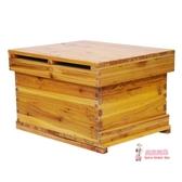 蜂箱 蜜蜂蜂箱全套養蜂工具專用養蜂箱煮蠟杉木中蜂標準十框蜂巢箱T