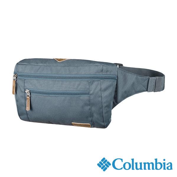 Columbia 復古風格腰包-藍灰色 UUU12240GL【GO WILD】