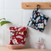 衛生巾收納包日繫衛生巾棉收納包女可愛便攜簡約大容量月事包姨媽巾收 多色小屋