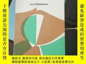 二手書博民逛書店Stylistics罕見and the Teaching of