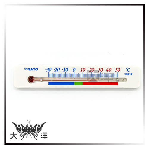 ◤大洋國際電子◢ 冷藏庫專用溫度計 1713-00 冷藏 冷凍 測溫 保鮮 冷凍櫃 冰箱