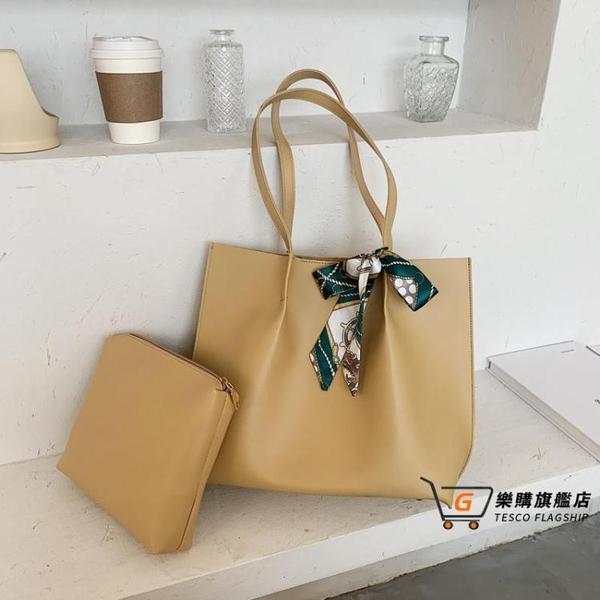 子母包 北包包夏季大容量包包女2021新款韓版百搭單肩包子母包時尚托特包