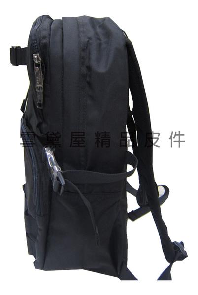 ~雪黛屋~WIND-TOOK 後背包中小容量可放A4資料夾10吋電腦20L防水尼龍布中高年級書包HWT0029