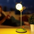 夜光燈 新生兒卡通充電led小夜燈遙控護眼臥室床頭月子嬰兒喂奶起夜臺燈