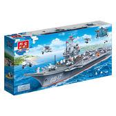 戰爭系列 NO.8421超級戰艦 內附起丁器 1:300 戰艦款大盒【BanBao邦寶積木楚崴】