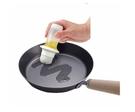 日本 ASVEL 擠壓式矽膠油刷(兩色隨機)  廚房調味罐 蛋液刷 油刷罐  矽膠油刷瓶 烤肉刷 醬料瓶  油瓶