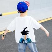 男童夏季t恤衫兒童短袖2019新款男孩夏裝中大童半袖體恤潮衣童裝8