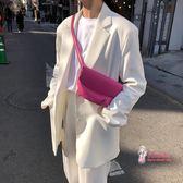 女胸包 女包2019新款韓國ins超火爆休閒百搭單肩包斜背包胸包女