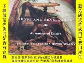 二手書博民逛書店Sense罕見and Sensibility: An Annotated EditionY25751 Jane