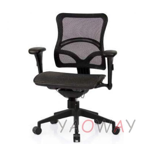 【耀偉】SL-D8尼龍椅腳-超值功能椅(人體工學椅/辦公椅/電腦椅/網椅)