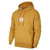 Nike Jordan Fleece 男子 卡其色 刷毛 喬丹 Logo 長袖 帽T 連帽上衣 CK6469-290
