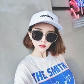 太陽鏡 日韓橢圓框防紫外線太陽鏡 女新款大框復古墨鏡 降價兩天