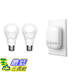 智能燈泡 C by GE Voice-Control C-Sleep Starter 2 C-Sleep Smart LED Light Bulbs C-Reach Smart Bridge