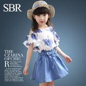 3-4-5-6-10歲兒童裙子童裝大女童連衣裙夏裝季女孩夏天公主裙套裝 限時八八折最後三天