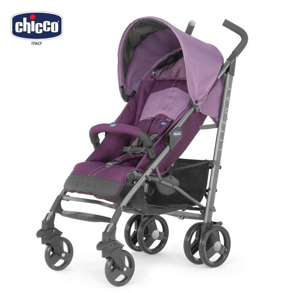 chicco-New Liteway2 樂活輕便推車-魔幻紫