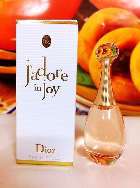 Dior 迪奧 J'adore in joy 愉悅淡香水 5ml 全新盒裝百貨公司專櫃小樣(旅行用)
