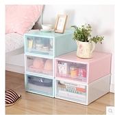 現貨 加厚特大號抽屜式收納櫃 玩具收納盒 塑料透明衣物衣櫃收納箱整理箱