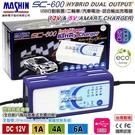 【久大電池】 麻新電子 SC600 脈衝式充電器 免拆電池充電器 USB充電 SC-600 超越 KT1206 進階版