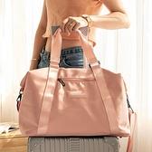 大容量男女手提旅行包健身出差行李包穿拉桿包防水收納包袋待產包 【全館免運】