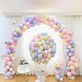 降價兩天 ins網紅氣球兒童生日派對寶寶周歲生日佈置馬卡龍氣球裝飾結婚