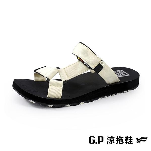 G.P (女)【Charm】織帶拖鞋 女鞋 -杏