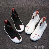 彈力襪子鞋女高幫個性街舞嘻哈鞋 超火韓版運動鞋 盯目家