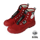 Palladium Pampa Lite Overlab 紅色 布質 休閒鞋 男女款 NO.B1179【新竹皇家 76639-625】