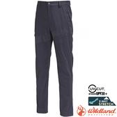 Wildland 荒野 0A71352-99深鐵灰 男彈性輕薄抗UV長褲 彈性機能褲/輕薄透氣/吸濕快乾/運動休閒褲