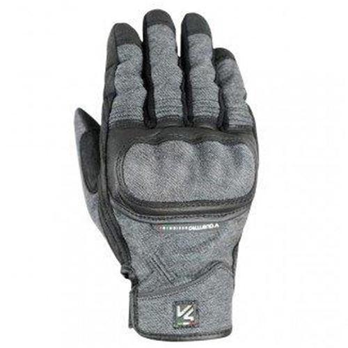 【東門城】VQUATTRO RAW 透氣牛仔纖維護具手套 (平藍)