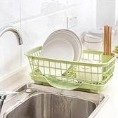 居家家水槽放碗架廚房塑料瀝水架碗碟收納架碗筷收納盒碗櫃置物架 萬聖節