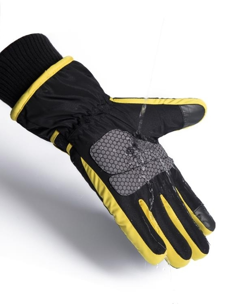 滑雪手套男冬季保暖加厚騎行摩托車防水防風防寒戶外騎車棉手套男 陽光好物