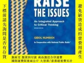 二手書博民逛書店Raise罕見The Issues: An Integrated
