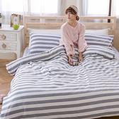 [SN]#B172#寬幅100%天然極緻純棉6x6.2尺雙人加大床包+舖棉兩用被套+枕套四件組*台灣製/鋪棉