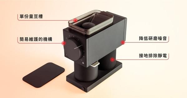 【沐湛咖啡】FELLOW ODE 精準磨豆機 完美家用磨豆機