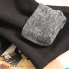 內搭褲  MIT保暖素色內刷毛植絨內搭褲  二色-小C館日系