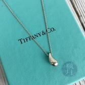 BRAND楓月 TIFFANY&CO. 蒂芬妮 925純銀 金屬 水滴 淚滴 銀鍊 項鍊 墜鍊 首飾 配件 銀飾