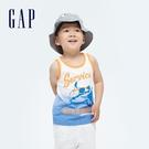 Gap男幼童 純棉立體膠印背心 698320-鯊魚圖案