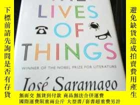 二手書博民逛書店THE罕見LIVES OF THINGS Jose SaramagoY349741