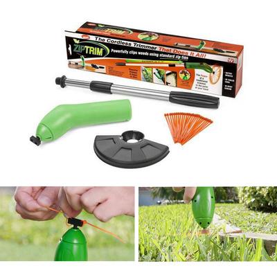 現貨 割草機TV新品手持電動無繩迷你割草器草坪花園修剪機塑膠便攜修枝