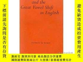 二手書博民逛書店Linguistic罕見Change And The Great Vowel Shift In English