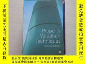 二手書博民逛書店property罕見valuation techniques 7