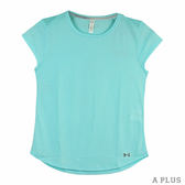 Under Armour 女  HG THREADBORNE MESH慢跑短 UA 圓領T(短)- 1300188942