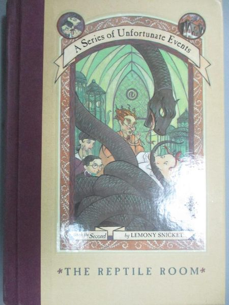 【書寶二手書T1/原文小說_JFT】The Reptile Room_Lemony Snicket