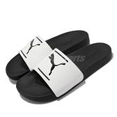 Puma 拖鞋 Leadcat FTR Comfort 白 黑 涼拖鞋 男女鞋 基本款 【ACS】 380673-05